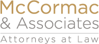 McCormac & Associates • Attorneys at Law